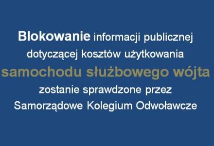 """Blokowanie jawności finansów w gminie Garbów przed sądem. Wójt Firlej """"wydał decyzję"""", że nie udostępni kosztów samochodu służbowego oraz wykazu delegacji"""