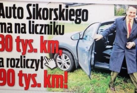 FAKT / WPOLITYCE.PL:  Ale jazda! W deklaracji trzy razy więcej kilometrów niż na liczniku. Cud Radosława Sikorskiego? Czy zwykłe oszustwo?