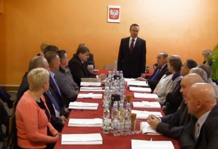 Pierwsza Sesja Rady Gminy Garbów kadencji 2014-2018 [wideo]