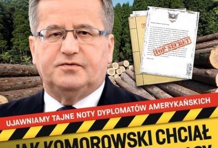 """""""Jak Komorowski chciał sprzedać polskie lasy"""" – polecamy najnowszy numer """"W sieci"""""""
