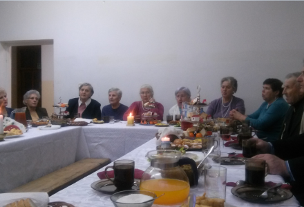 Spotkanie opłatkowe Koła Przyjaciół Radia Maryja Parafii Garbów – Karolin, niedziela 18 stycznia 2015