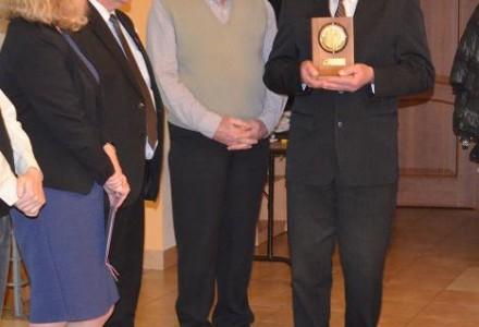 Nagroda za Zasługi dla Ziemi Garbowskiej 2014 r. dla Tadeusza Tarki