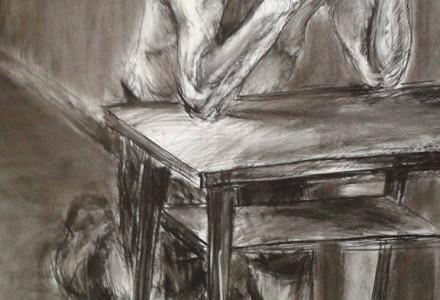 """""""Modlący się"""" – autor: Igor Moritz"""
