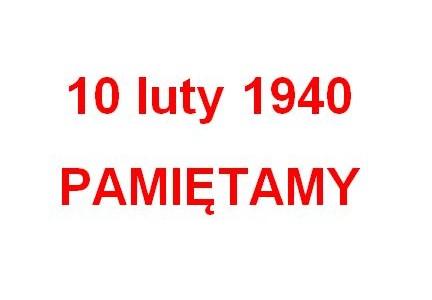 75. rocznica zsyłek na Sybir. 10 luty 1940 – pamiętamy!