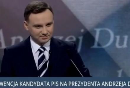 Niesamowite przemówienie Andrzeja Dudy kandydata na Prezydenta RP. Naprawdę warto to zobaczyć