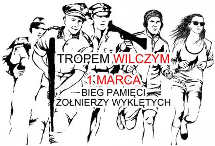 Tropem Wilczym – Bieg Pamięci Żołnierzy Wyklętych, Lublin 1 marca 2015 r.