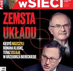 """Kiedyś niszczyli Romana Kluskę, teraz chcą zniszczyć Grzegorza Biereckiego i """"SKOKi Stefczyka"""" – czytaj w tygodniku  """"W sieci"""""""
