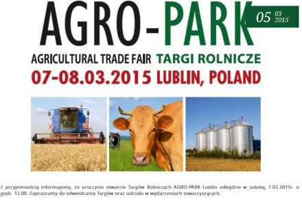 Targi Rolnicze, Lublin 7-8 marca 2015