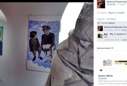 Odrażająca profanacja Matki Boskiej z Dzieciątkiem w Galerii Sztuki Współczesnej w Świnoujściu