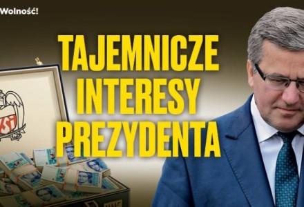 Skąd ówczesny minister Komorowski miał 3 miliony zł na inwestycje?