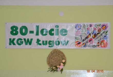 80 lat Koła Gospodyń Wiejskich w Ługowie