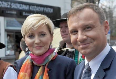 List Andrzeja Dudy do Polaków: Będziemy z żoną parą prezydencką, z której będziecie mogli być dumni