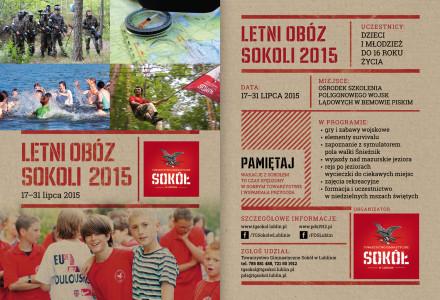 Letni Obóz Sokoli 2015 i Obozy Wojskowe 2015 – Bemowo Piskie