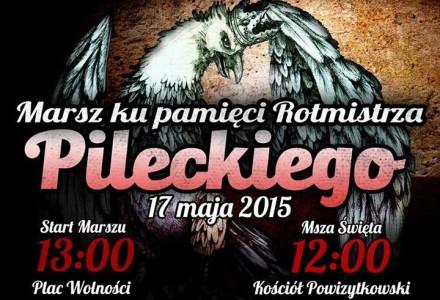 Marsz ku pamięci Rotmistrza Witolda Pileckiego – Lublin, niedziela 17 maja 2015 r.