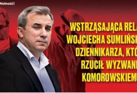 Bronisław Komorowski traci nerwy na samo wspomnienie o Sumlińskim. Nic dziwnego. Ostatnia książka dziennikarza to wielkie oskarżenie