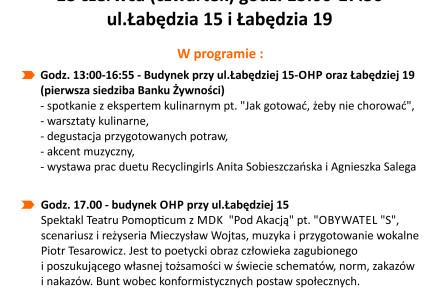 """Bank Żywności w Lublinie zaprasza na wydarzenie """"Coś dla ciała, coś dla ducha"""""""