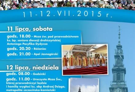 XXIV Pielgrzymka Rodziny Radia Maryja na Jasną Górę, niedziela 12 lipca 2015 r.