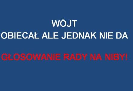Rada Gminy przegłosowała, a wójt mówi, że wniosku nie ma! Co teraz na to radny Wiesław Dados i radna Zwolak?