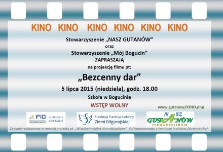 """""""Mobilne kino"""" w Bogucinie! 5 lipca 2015, g. 18.00 – Szkoła Podstawowa"""
