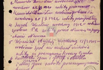 """""""Zginęły przez Niemców"""" – Archiwalny wykaz osób zabitych z Woli Przybysławskiej z około 1944 roku"""
