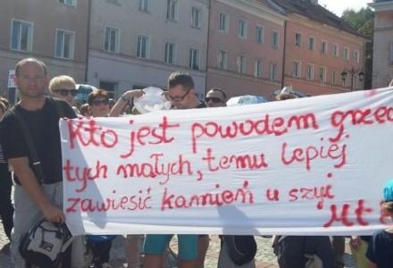 """TVP jest zbyt zajęta atakiem na prezydenta, by dostrzec manifestację tysięcy rodziców! Czego nie dowiedzieli się widzowie """"Wiadomości"""" o planie deprawacji ich dzieci?"""