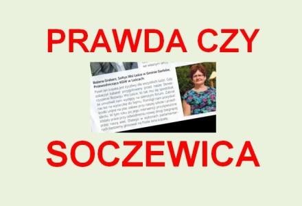 """""""My"""" sołtyska z Lesiec agitujemy za głosowaniem na kandydata z PSL… Krótka refleksja o sprzedawaniu prawdy za miskę soczewicy"""