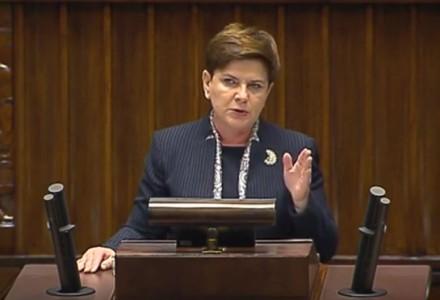 Stanowcza odpowiedź premier Szydło na słowa Macrona: Polska nie podda się dyktatowi innych