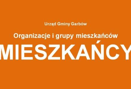 """UWAGA. Trwają konsultacje projektu """"Programu współpracy Gminy Garbów z organizacjami pozarządowymi"""" na rok 2016"""