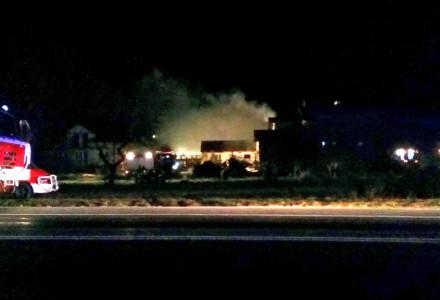 30 grudnia 2015 – pożar w Bogucinie