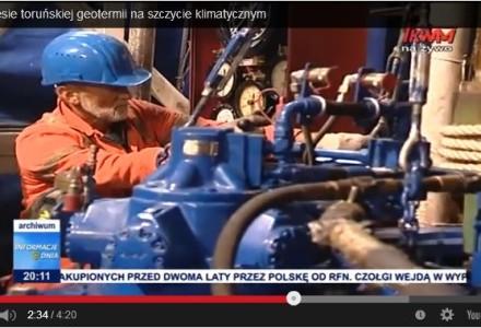 O sukcesie toruńskiej geotermii na szczycie klimatycznym. Gigantyczne złoża geotermalne w Toruniu zablokowała decyzja polityczna rządu PO-PSL!