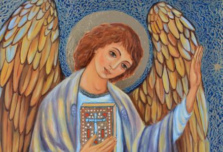"""""""…dziękowałam Bogu za Jego dobroć, że nam daje aniołów za towarzyszy…"""" [słowo na niedzielę]"""