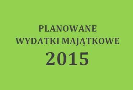 """""""Planowane"""" wydatki majątkowe w gminie Garbów w roku 2015 – prawie 10 milionów zł w tym prawie 5 milionów na """"Ekoenergię"""""""