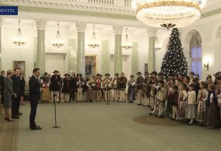 Górale u Prezydenta. Było takie spotkanie, którego nie można było zobaczyć w poprzedniej telewizji