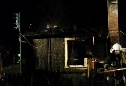 Gutanów – 10 stycznia 2015 – kolejny pożar w gminie Garbów. Spłonął człowiek. Krótka relacja uczestnika akcji z OSP Gutanów