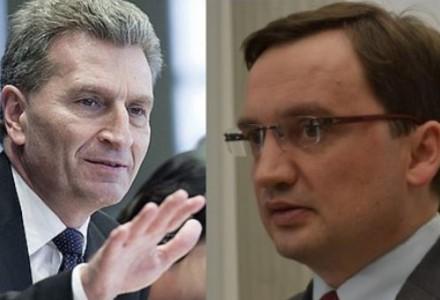 Warto przeczytać. Minister sprawiedliwości Zbigniew Ziobro w liście do komisarza Oettingera protestuje przeciwko nagonce na nowy rząd. Krótko i na temat