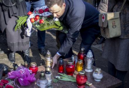 Andrzej Duda o Żołnierzach Wyklętych: To z Waszej ofiary odrodziła się niepodległa Polska