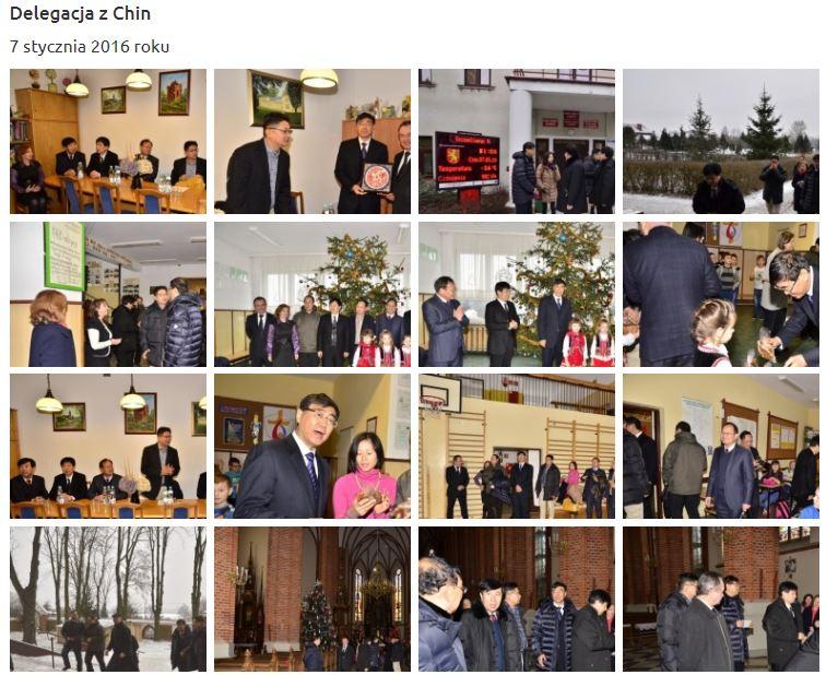 """Tajemniczy goście z Chin w gminie Garbów! """"Oficjalna wizyta turystyczna. Zainteresowali się, przyjechali. Koniec kropka!"""""""
