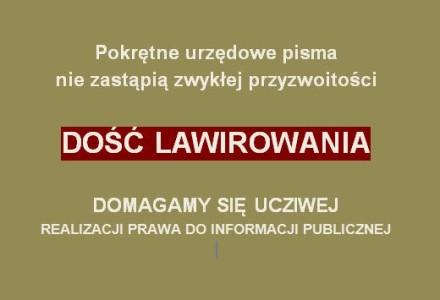 Wezwanie wójta do realizacji wniosku o udostępnienie nagrania z sesji rady gminy! Utrudnianie dostępu do informacji jest karalne