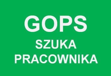 Gminny Ośrodek Pomocy Społecznej w Garbowie szuka nowego pracownika na pełny etat