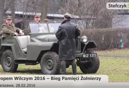Bieg Tropem Wilczym – 2016. [relacja wideo na stefczyk.tv]