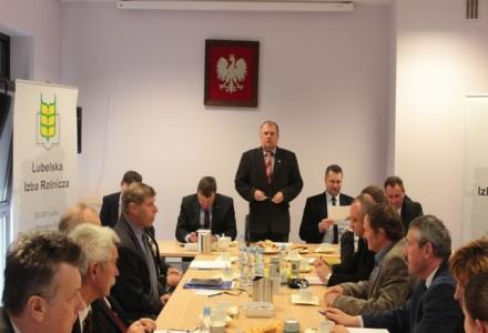 Spotkanie robocze w Lubelskiej Izbie Rolniczej