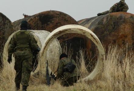 Odbijanie konwoju, ubezpieczanie kolumny – Sokół ćwiczył w Michowie