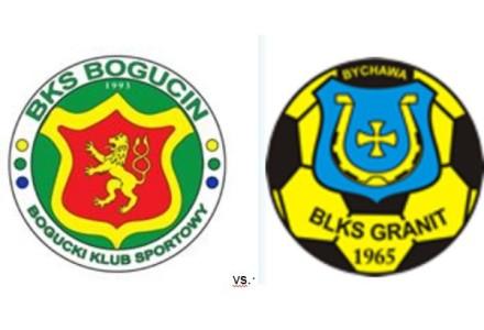 Zaproszenie na mecz. BKS Bogucin vs. Granit II Bychawa. Sobota, 21 maja 2016, g. 17.00