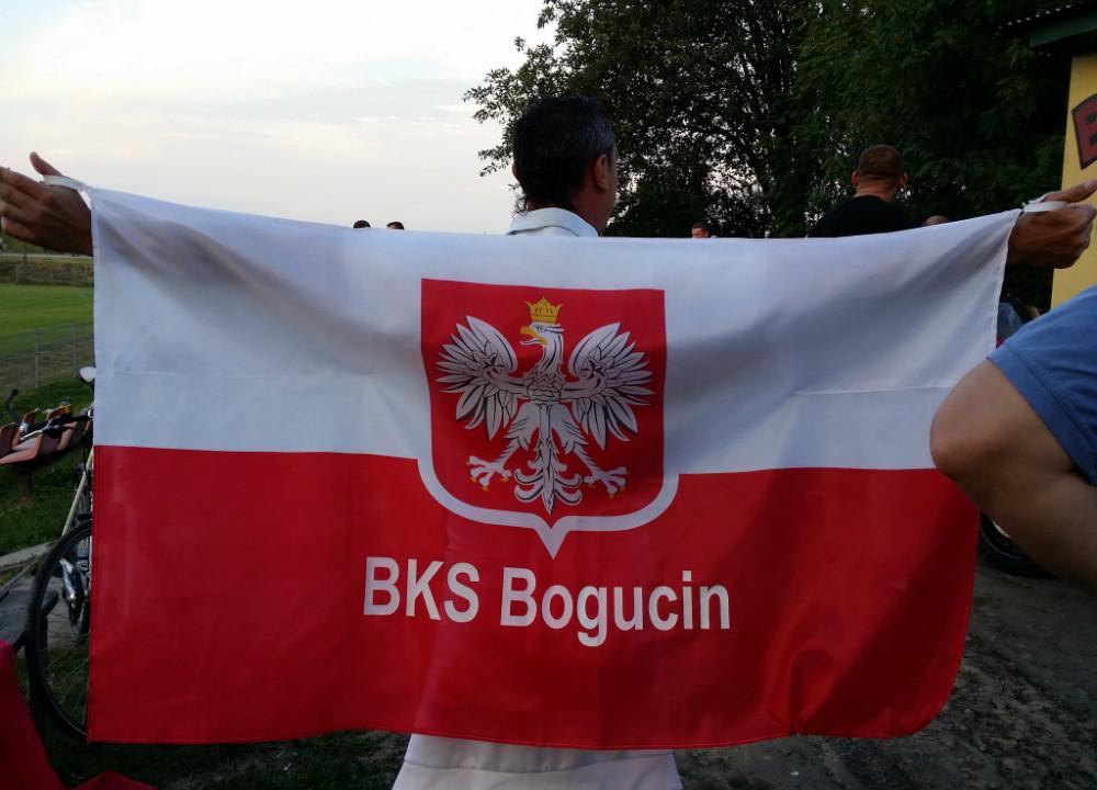 Polska-Szwajcaria na stadionie w Bogucinie! Zobacz radość kibiców! Prezes BKS Bogucin zaprasza do strefy kibica!
