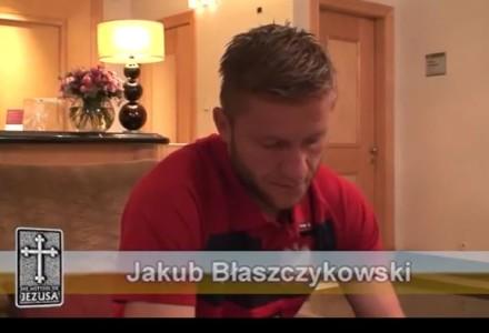 """Jakub Błaszczykowski: """"Najważniejsza jest dla mnie codzienna Eucharystia i czytanie Pisma Świętego"""""""