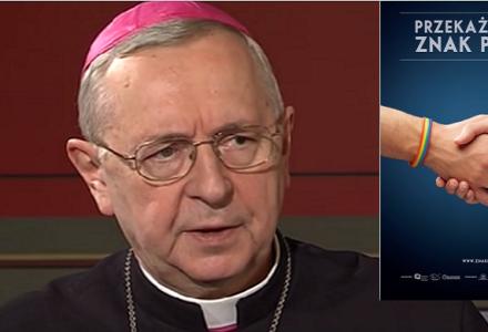 """Stanowisko Komisji Episkopatu Polski: Kampania """"Przekażmy sobie znak pokoju"""" rozmywa jednoznaczne wymagania Ewangelii."""