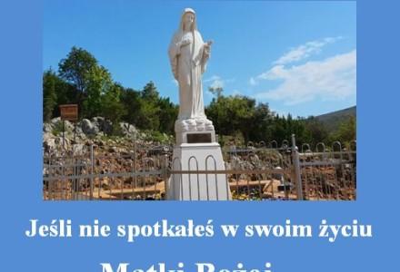 """""""Spotkanie z Matką Bożą."""" Wzruszające świadectwo 10-letniej Natalki – uczestniczki sierpniowej pielgrzymki do Medjugorie"""