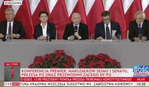 Prezes PiS: wyciągamy do opozycji rękę, ale nie godzimy się na przestępstwa