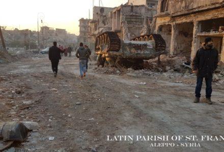 Zdumiewająca moc w parafii w Aleppo