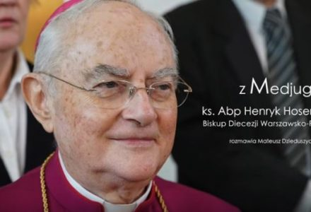 """Abp. Hoser o Medjugorie: """"W dzisiejszym, bardzo niespokojnym świecie Medjugorje staje się światłem i przesłaniem pokoju"""""""